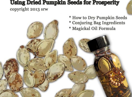 Three Simple Magickal Prosperity Projects Using Dried Pumpkin Seeds