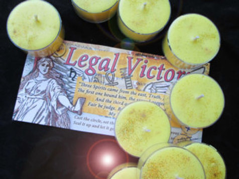 Legal Victory Soy Candles