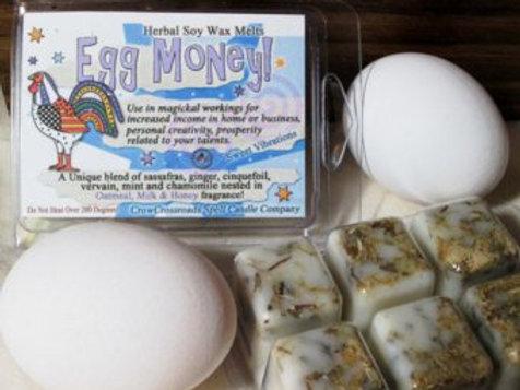 Egg Money Creativity and Abundance Wax Tarts