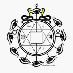 Eyes of Spirit Sigil for Manifestation by Silver RavenWolf