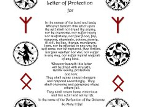 Silver RavenWolf on the History and Activation of the Braucherei Himmelsbrief Letter of Protection