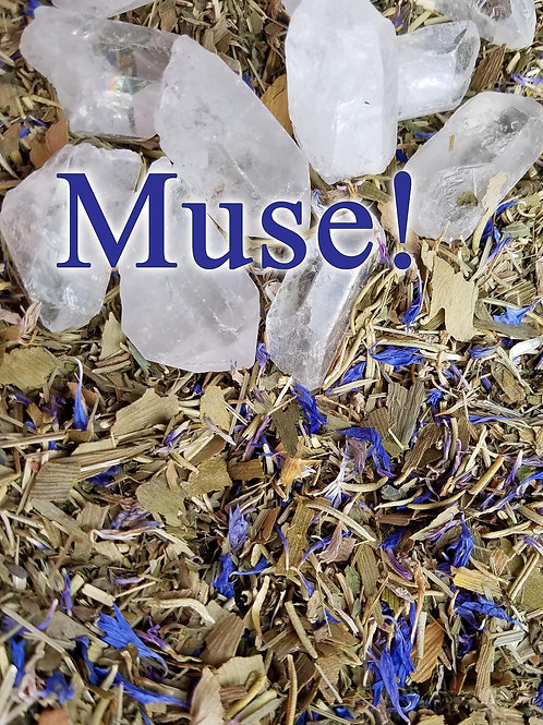 Muse! Herbal Blend and Crystal Gemstone
