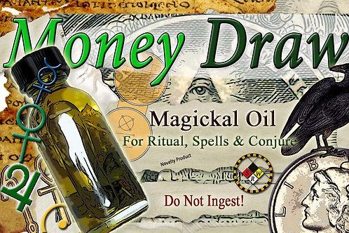 Money Draw Magickal Oil