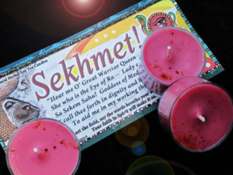 Sekhmet 9 Soy Tea Candles