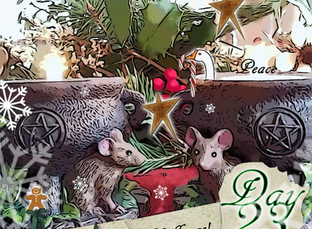 Silver RavenWolf – Day 23 – Wednesday – 23 December 2015 – Great Release Cha
