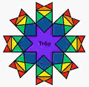 Man/Mannaz Rune -- from spirituality at the center, so do we expand into the universe, our thoughts going before us.  When we meet, our thoughts combine, moving back to the center as the group mind.
