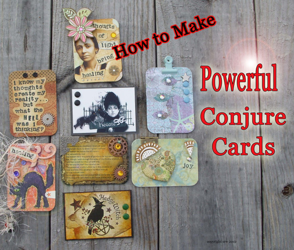 How To ACEO ATC by Silver RavenWolf
