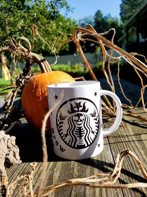 Witch Skeleton Mug