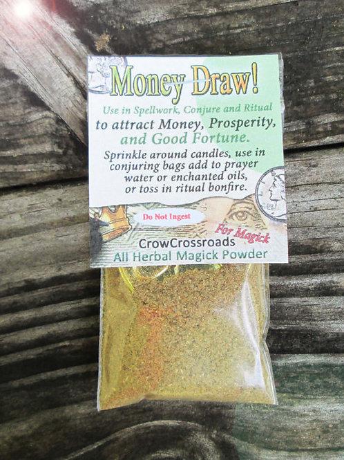 Money Draw Herbal Magickal Powder