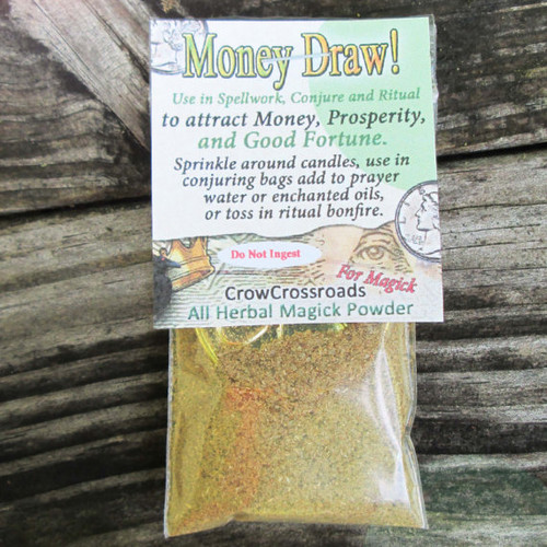 Money drawing herbs and oils
