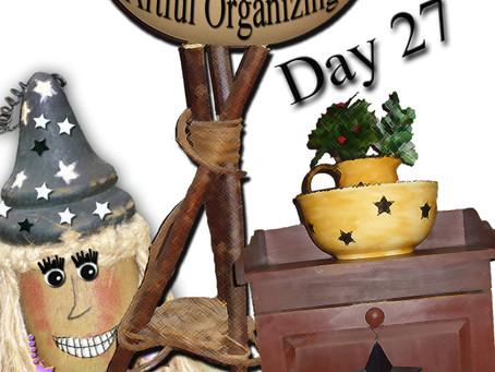 Day 27 Release Program — Artfully Creative Organizing!