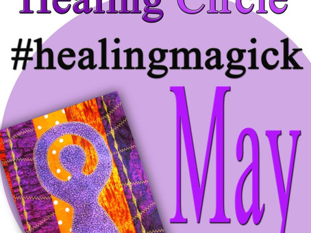 Silver RavenWolf Presents May Healing Circle #healingmagick