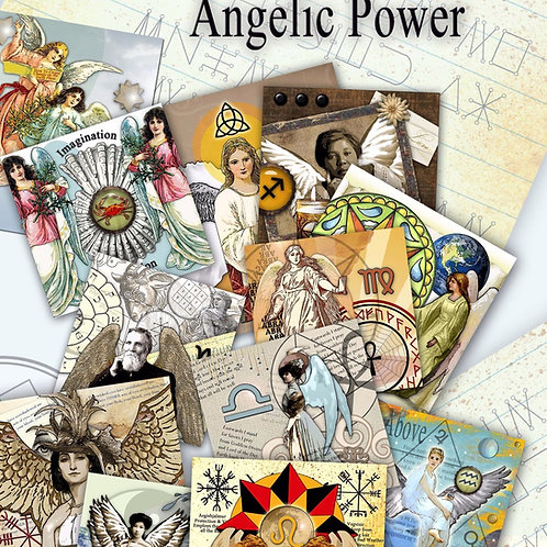 Angelic Power Sigils and Correspondences Book of Shadows Pages