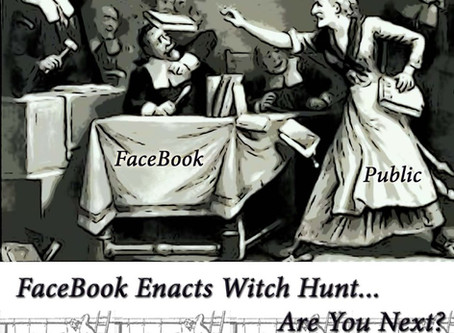 FaceBook Enacts Witch Hunt! by Author, Silver RavenWolf