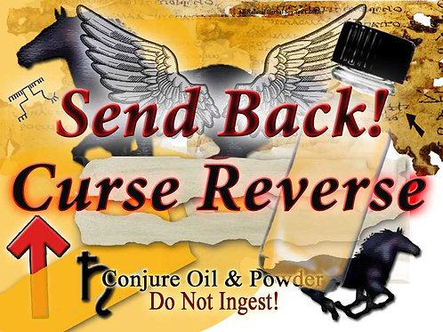 Curse Reverse Send Back Conjure Oil