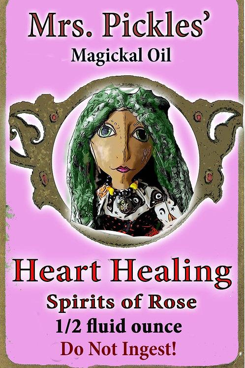 Heart Healing Magickal Oil