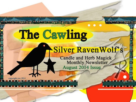 Silver RavenWolf Designs New Newsletter – The Cawling