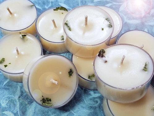 Lemon Verbena Soy Tea Candles - 9