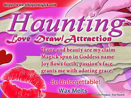 Haunting - Love and Attraction Formula