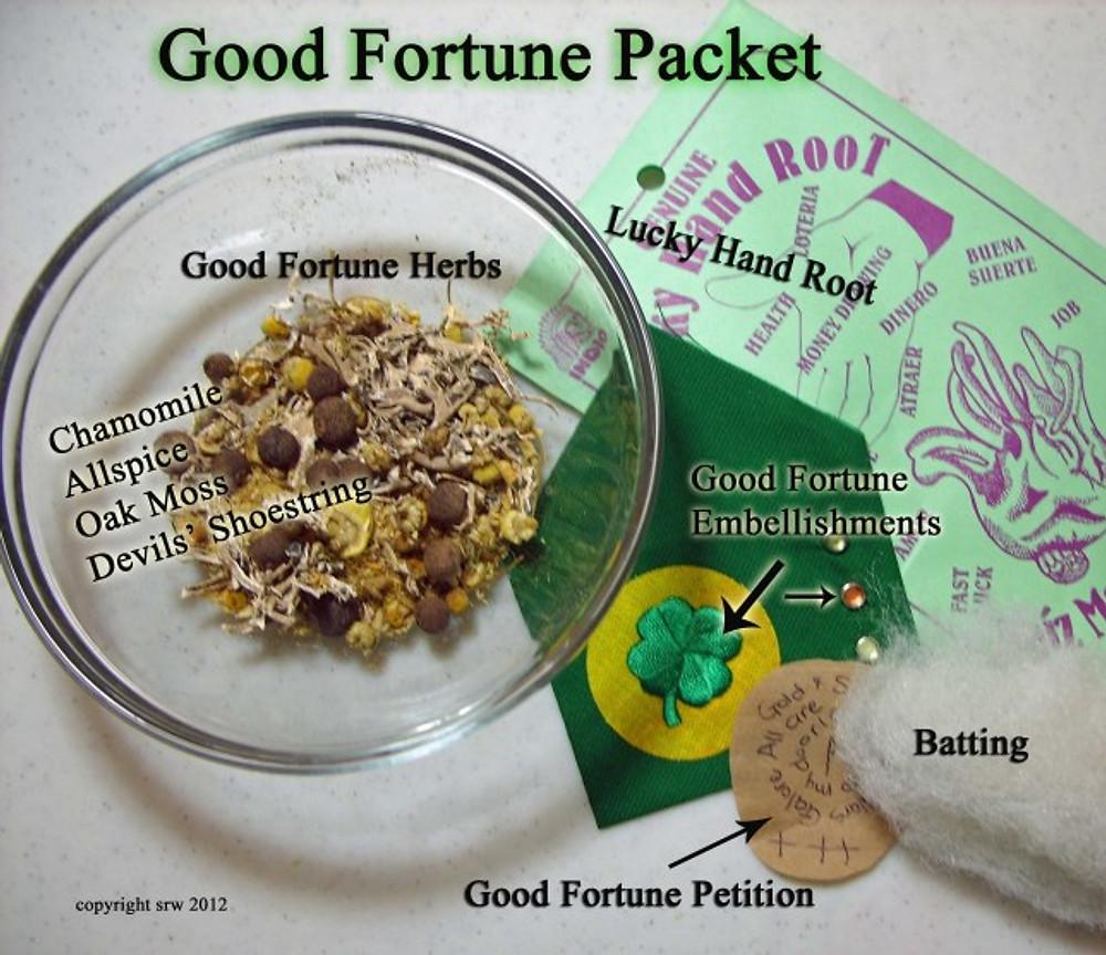 Silver RavenWolf supplies Good Fortune