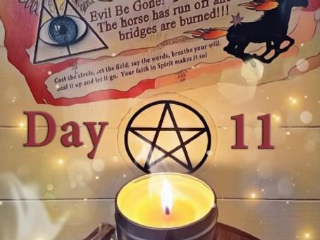 Day Eleven – Great Release Program – 11 December 2018 – Silver RavenWolf