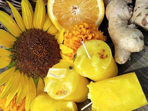 Sunflower Spritz Success Votives - 3