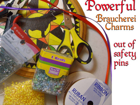 How to Make Braucherei Charms and Amulets from Safety Pins