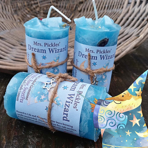 Wizard of Dreams Pillar Candle