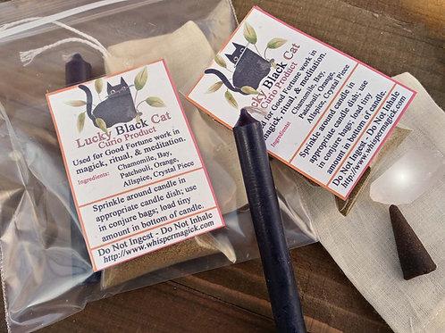 Lucky Black Cat Herbal Powder