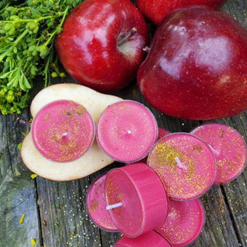 Enchanted Apple Soy Tea Candles