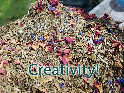 Creativity Herbal Blend with Crystal