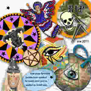 Protective symbols designed by Silver RavenWolf