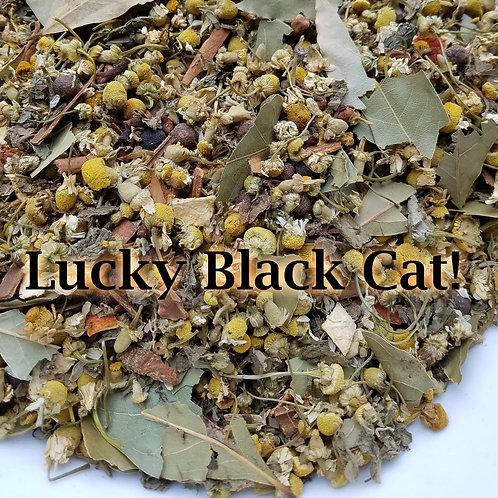 Lucky Black Cat Herbal Blend
