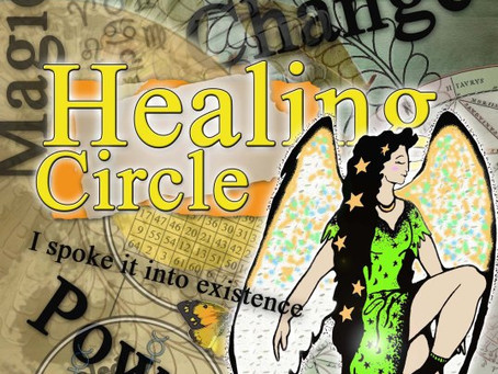 Silver RavenWolf presents June 2014 Healing Circle #healingmagick