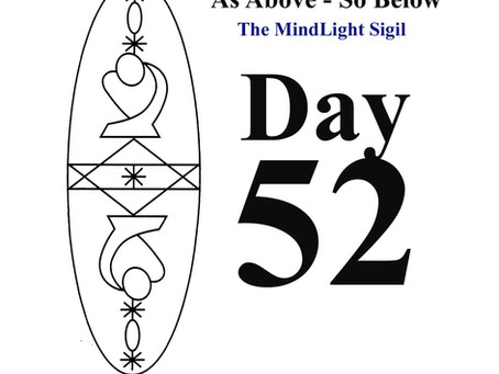 Day 52 - The MindLight Sigil by Silver RavenWolf