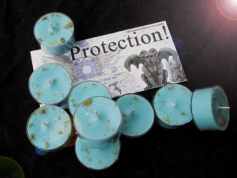 Protection Soy Candles