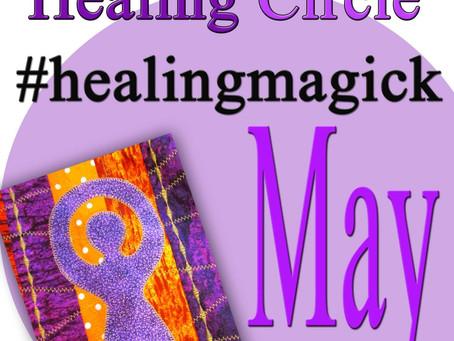 Silver RavenWolf Presents May Healing Circle #healingmagick
