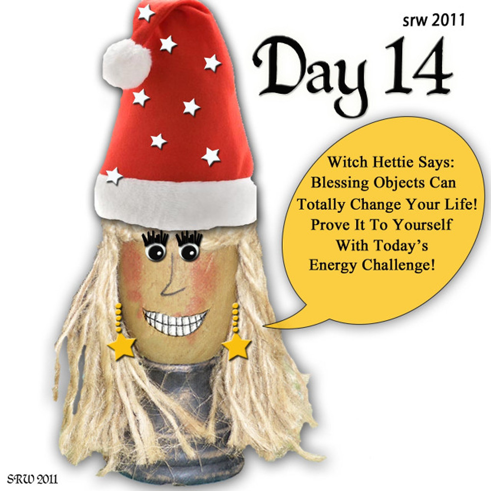 Day 14 Witch Hettie Great Release Challenge