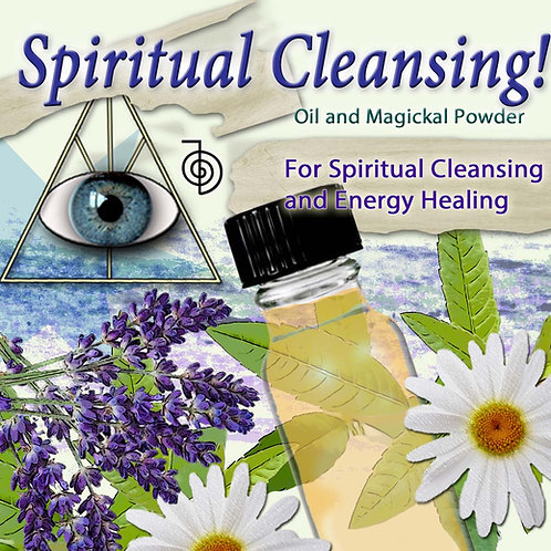 Spiritual Cleansing Purification Oil