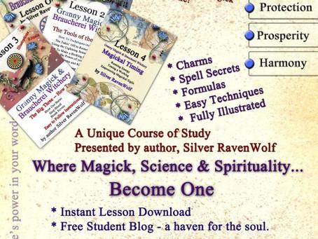 Braucherei and Granny Magick Lessons 1 through 4