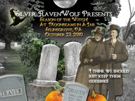 Silver RavenWolf October Event
