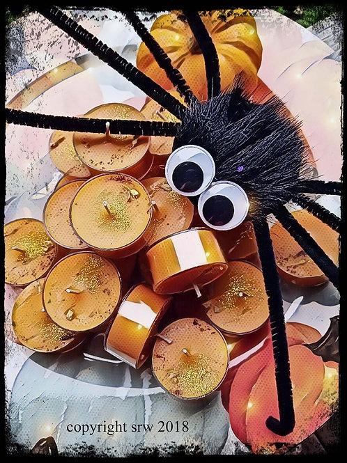 Pumpkin Spice Souffle Soy Tea Candles