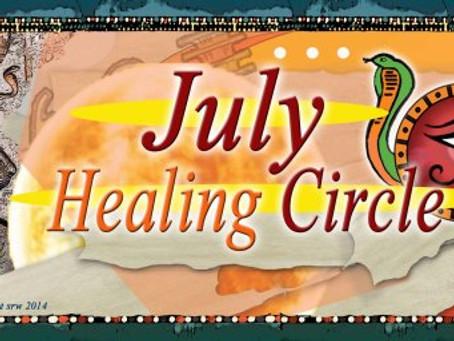 Silver RavenWolf presents July 2014 Healing Circle #healingmagick