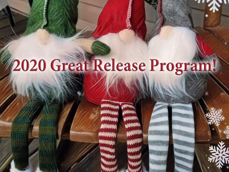 Day One 2020 Great Release Program – 1 January 2020 – Wednesday