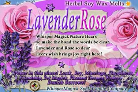 Lavender Rose Wax Melts/Tarts