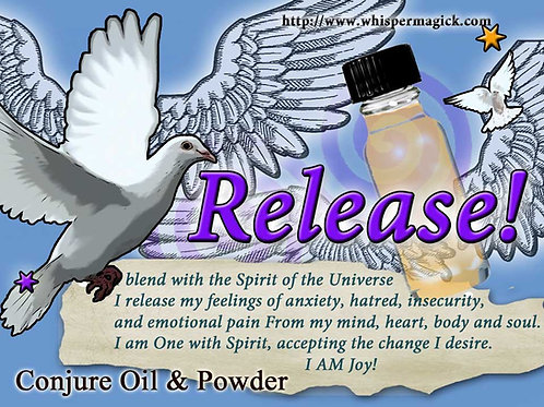 Release Conjure Oil