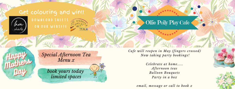 Ollie Polly Play Cafe, afternoon teas,beckenham,west wickham,bromely