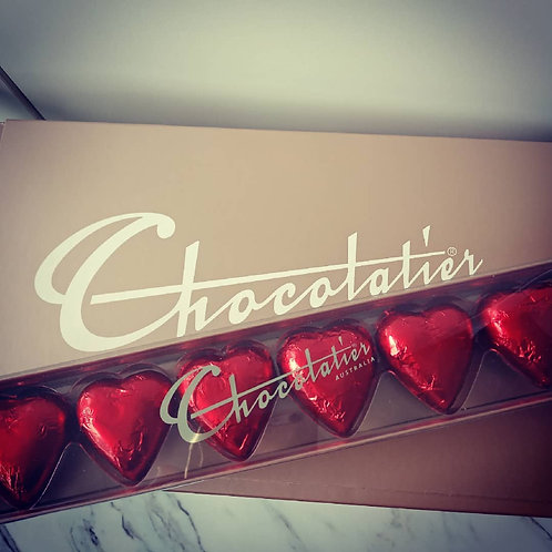 Gourmet Chocolates -Red Hearts
