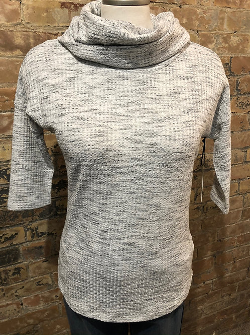 Dex 3/4 sleeve Cowel Neck