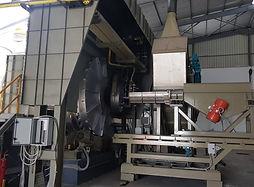 Fabcom, Algeria 2019_ 4 m3 rotary furnac